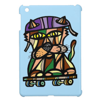 """""""Skater Kat"""" iPad Mini Case"""