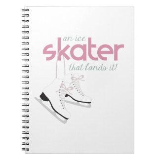 Skater Lands It Notebook