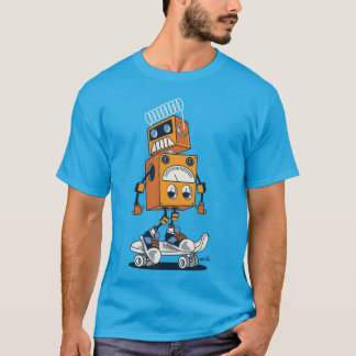 Skater robot T-Shirt