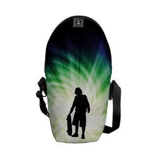 Skater; Skateboard Messenger Bags