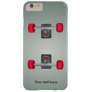 Skater Skateboard Skateboarding Wheels and Trucks Barely There iPhone 6 Plus Case