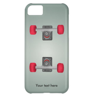 Skater Skateboard Skateboarding Wheels and Trucks iPhone 5C Case