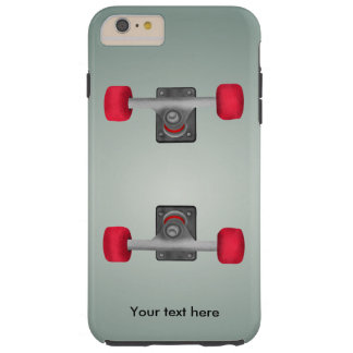 Skater Skateboard Skateboarding Wheels and Trucks Tough iPhone 6 Plus Case