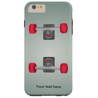 Skater Skateboard Skateboarding Wheels and Trucks Tough iPhone 6 Plus Case