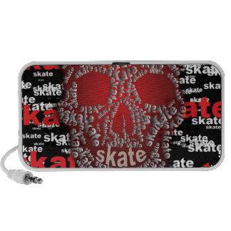 Skater Skull Doodle Speaker