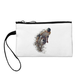 Skater Style Change Purse