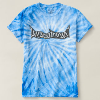 Skater T-shirt London multicolored with graffiti
