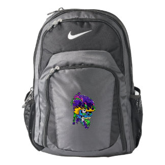Skater zombie. backpack