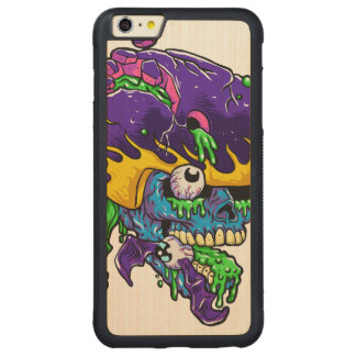 Skater zombie. carved® maple iPhone 6 plus bumper case