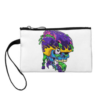 Skater zombie. coin purses