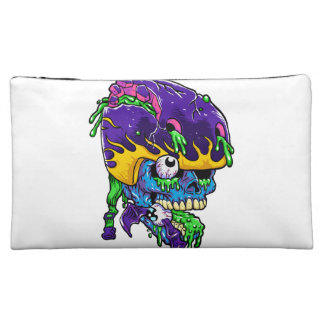 Skater zombie. cosmetics bags