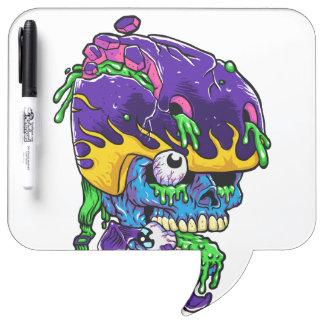 Skater zombie. Dry-Erase boards