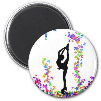 skaterbielmann 6 cm round magnet