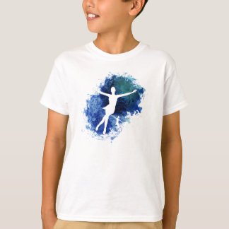 Skaters Blue Background T Shirts