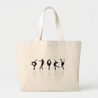 Skaters & Reflections Large Tote Bag