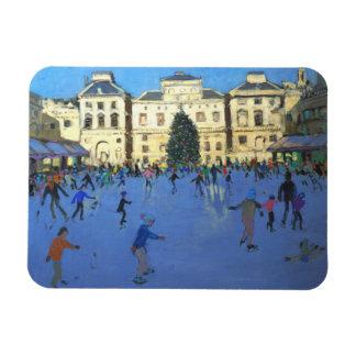 Skaters Somerset House 2012 Rectangular Photo Magnet