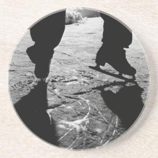 Skates Silhouette Coaster