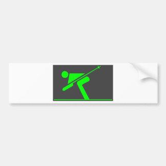 Skating Bumper Sticker