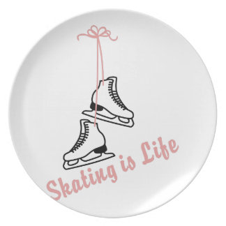 Skating Is Life Party Plates