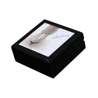 'Skating' Keepsake Box