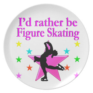 SKATING QUEEN PARTY PLATES