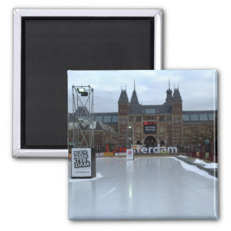 Skating rink, Museumplein, Amsterdam Square Magnet
