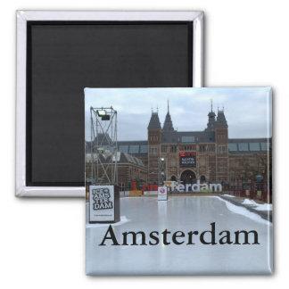 Skating rink, Museumplein, Amsterdam Square Magnet