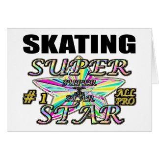 Skating Superstar Card