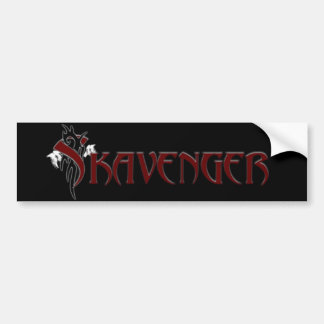 Skavenger Bumper Sticker