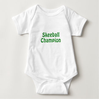 Skeeball Champion Baby Bodysuit