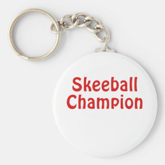 Skeeball Champion Key Ring
