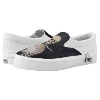 Skeletal Heart of Pluto - Slip-On Shoes