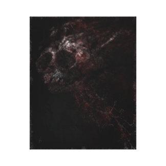 Skeletal Monkey Canvas Print