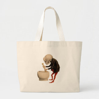 Skeletal Pharmacy Large Tote Bag