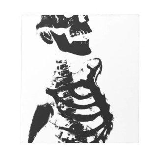 Skeleton #4 notepad
