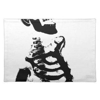 Skeleton #4 placemat