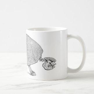 Skeleton Armadillo mug