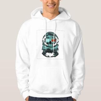 Skeleton atronaut hoodie