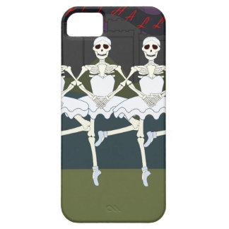 Skeleton Ballerinas Case For The iPhone 5