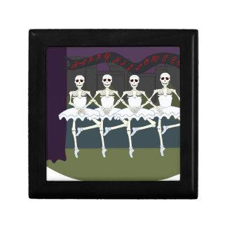 Skeleton Ballerinas Gift Box