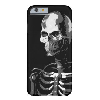 Skeleton black and white barely there iPhone 6 case