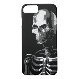 Skeleton black and white iPhone 7 case