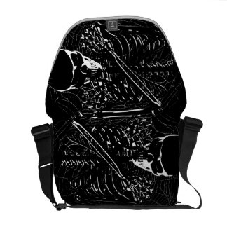 Skeleton Bones Commuter Bag