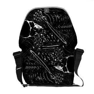 Skeleton Bones Commuter Bag