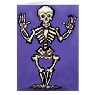 Skeleton Card