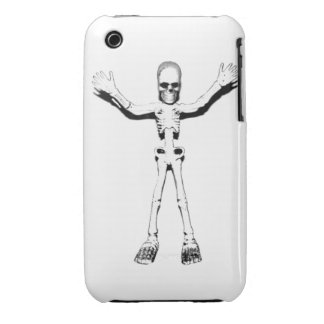 Skeleton iPhone 3 Cases