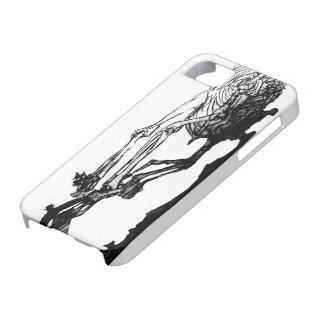 Skeleton Cat Case iPhone 5 Cover