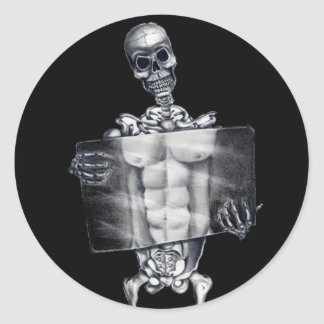 Skeleton Chest Xray Stickers