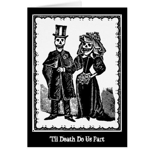 Skeleton Couple - Card (Customise)
