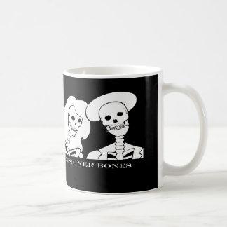 Skeleton Couple Mug - white design